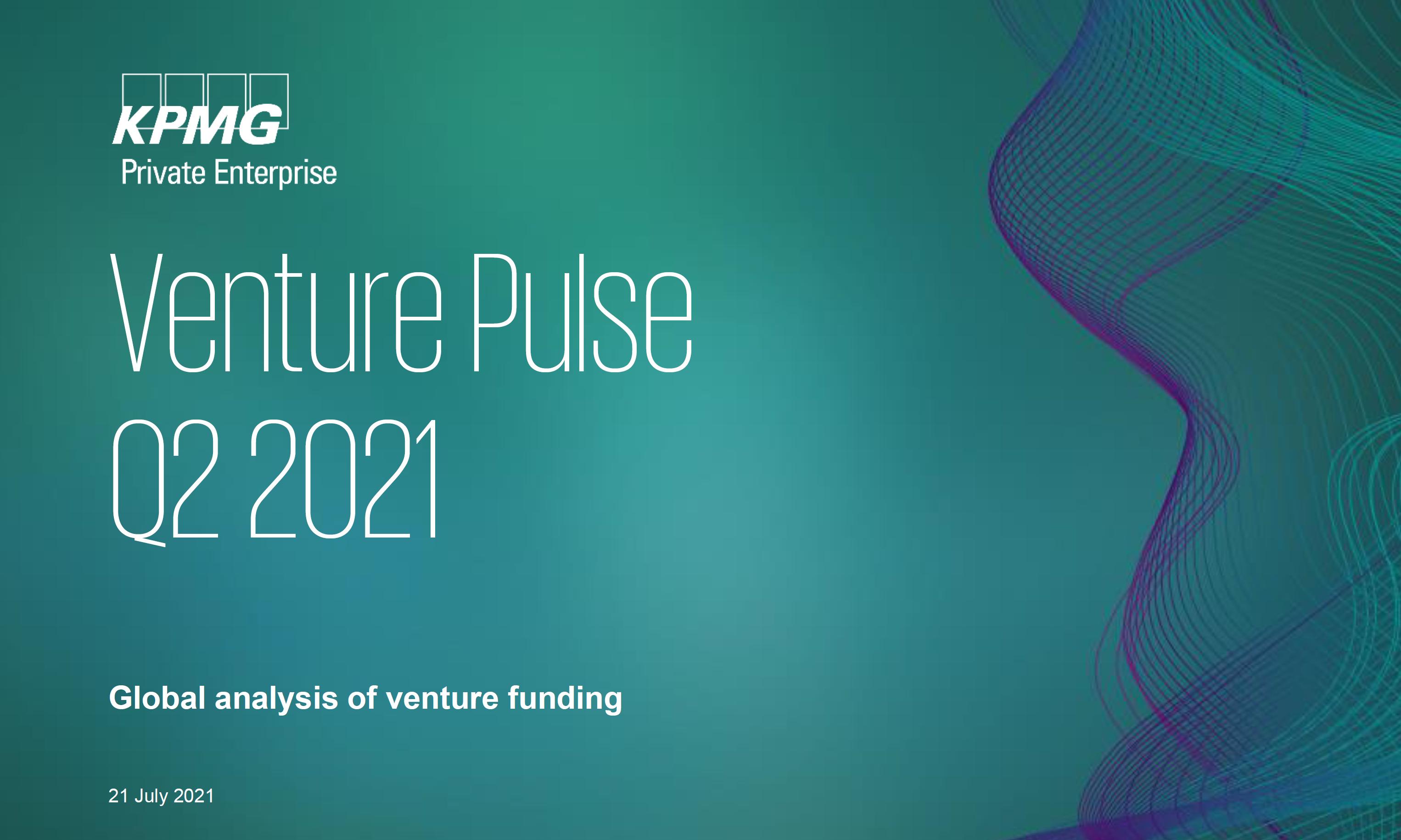KPMG | Venture Pulse Q2 2021